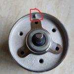 keying piece lower pan
