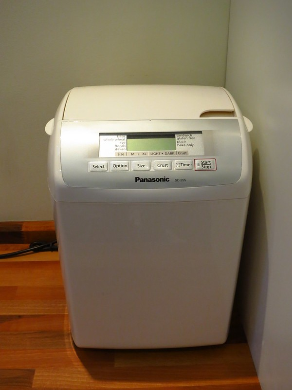 panasonic breadmaker sd255